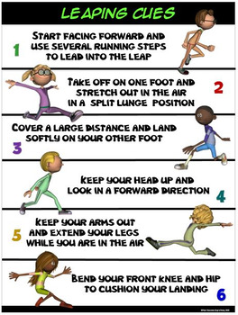 PE Poster: Leaping Cues