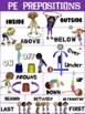 PE Poster: P.E. Prepositions