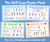 PE Poster Pack Bundle - Skill Cues, Management, Bathroom, Rules