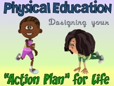 PE Poster: Physical Education- Designing Your Action Plan