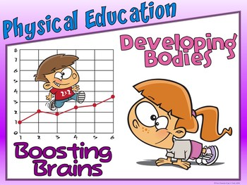 PE Entry Poster: Physical Education- Developing Bodies; Boosting Brains