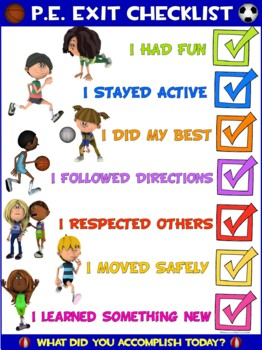 Image result for pe checklist