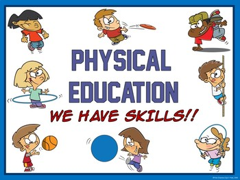 Physical Education Entry Posters-  9 PE Poster Advocacy Bundle
