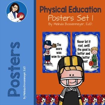P.E. Poster Set 1