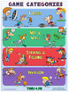 PE Poster: Teaching Games for Understanding (TGfU)- Game Categories
