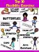 PE Poster: Top 10 Flexibility Exercises
