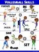 PE Poster: Volleyball Skills
