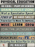 PE Poster: WORDS MATTER- Physical Education Advocacy Visual