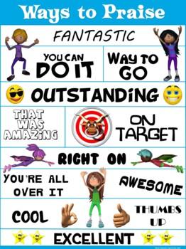 PE Poster: Ways to Praise!