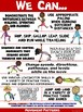 """PE Poster: """"We Can"""" Statements- Standard 1B: Competency in Movement Patterns"""