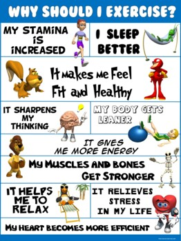 PE Poster: Why Should I Exercise?