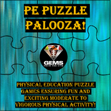 PE Puzzle Palooza - Agility Style!