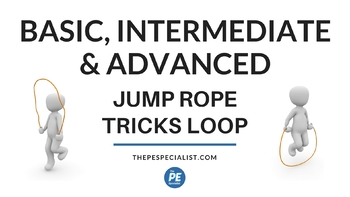 PE Resource: Jump Rope Tricks Animated GIF Powerpoints and GIF Video Loops