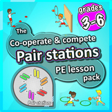 PE Skill Stations: 50 fun sport activities for pairs to pl