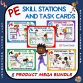 "PE Skill Stations and Task Cards- ""Mega Bundle"""