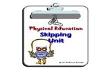 P.E. - Skipping Unit Gr. 2 & 3