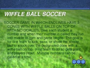 PE Soccer Activities