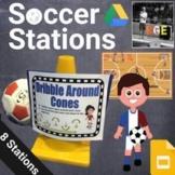 PE Soccer Station Signs (Google Slides)