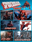 PE: Spiderman Warm Up Poster