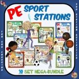 PE Sport Stations- 10 Product Mega Bundle
