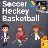 PE Sports Stations Bundle (Basketball, Hockey, Soccer)