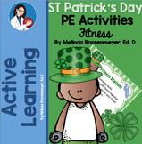 PE Station Cards - St Patrick's Day Fitness Stations