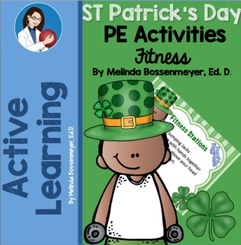 PE Station Cards - St Patrick's Day Fitness Stations