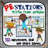 PE Stations - Bundled Series (Triple Pack)