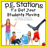 PE Stations To Get Your Students Moving - Gym Stations
