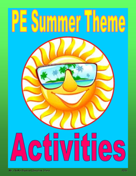 PE Summer Theme Activities