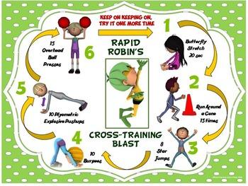 PE Super Friends Fitness Blasts- 4 FREE Mini Workouts