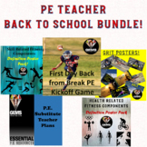 PE TEACHER BACK TO SCHOOL PREP BUNDLE!