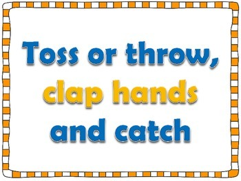 P.E. Task Cards: Tossing, Throwing & Catching