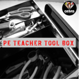 PE Physical Education Teacher Classroom Management Toolbox!