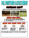PE: Underhand Throw Assessment Sheet