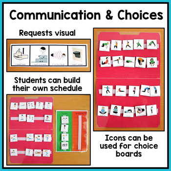 PE Visuals and Schedules for Special Education and Autism