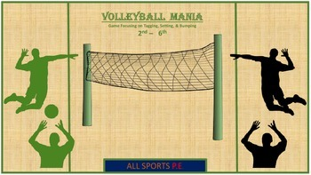 PE VOLLEYBALL MANIA