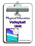 P.E. - Volleyball Unit