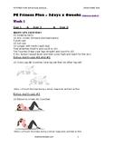 PE WORKOUT LESSON PLANS - (all grades)