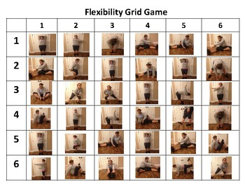 PE Warm up Game: Flexibility Grid Game