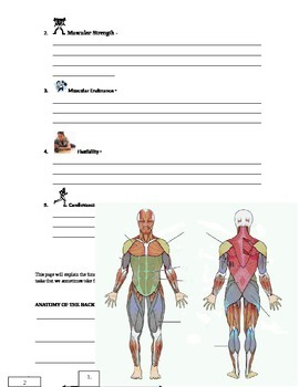 PE - Weight Room Circuit PACKET