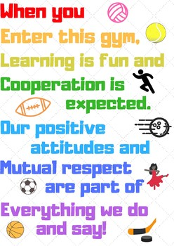PE Welcome Sign