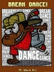 "PE Word Art Poster: ""Break Dance"""