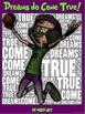 "PE Word Art Poster: ""Dreams do Come True"""