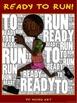 "PE Word Art Poster: ""Ready to Run"""