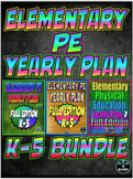 PE Yearly Plan 5,6,7 Triple Bundle K-5 Full Edition
