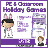 PE and Classroom Party Games : Easter