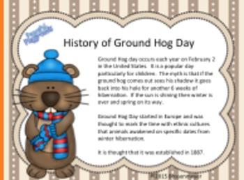 PE and Classroom Party Games: Groundhog Day