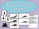 PE circuit training session two