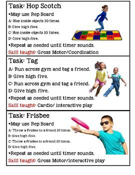 PE Visuals for Autism